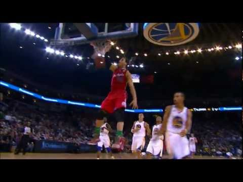 Blake Griffin Hammers Home A Powerful Dunk Vs Warriors [HD]