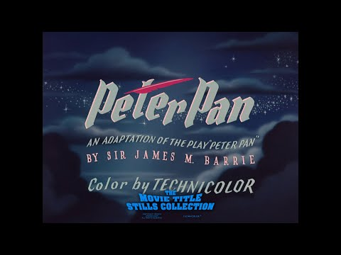 Peter Pan (1953) Title Sequence