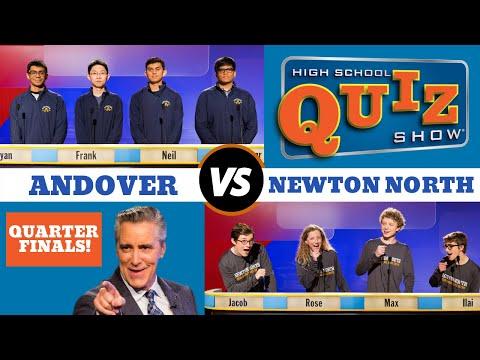 High School Quiz Show - Quarterfinal #4: Andover vs. Newton North (912)