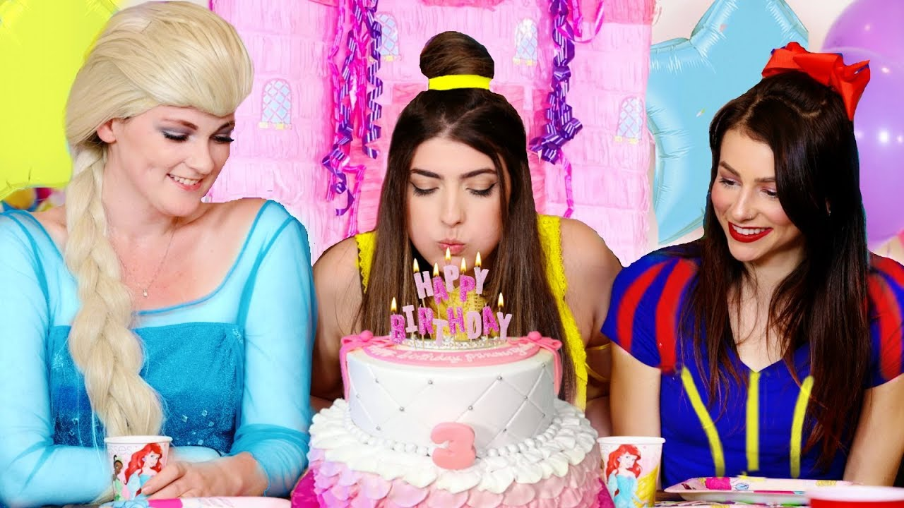 disney princess birthday party youtube