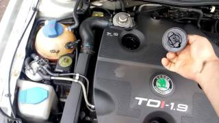 Контрактный двигатель Skoda (Шкода) 1.9 AGR/ALH | Где купить? | Тест мотора