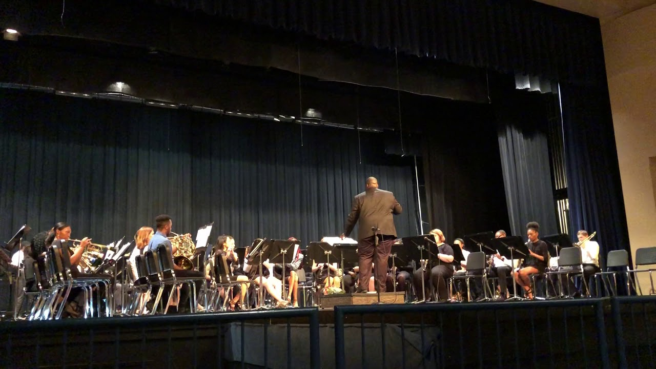 Garfield Heights High School Band Concert Selection 14 Youtube