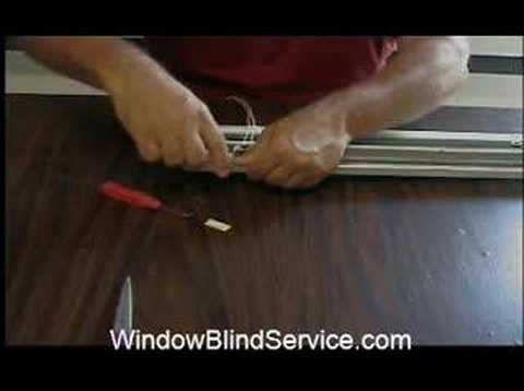 John Sitko window blind repair- WindowBlindService.com - YouTube