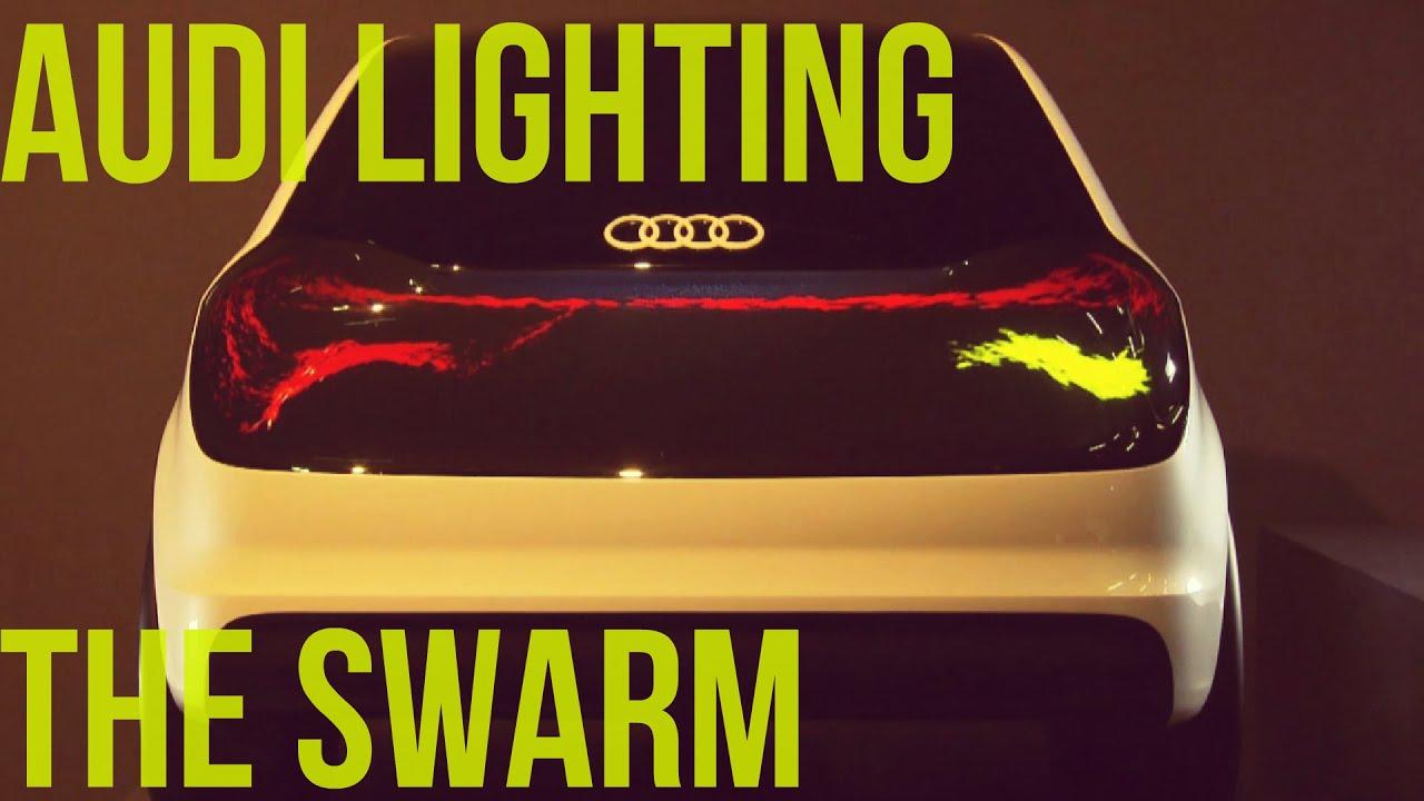 Audi Lighting The Swarm Youtube