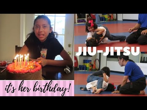 LEARNING JIU JITSU! | SOMEONE ALMOST CRASH US ! | MY NIECE BIRTHDAY!