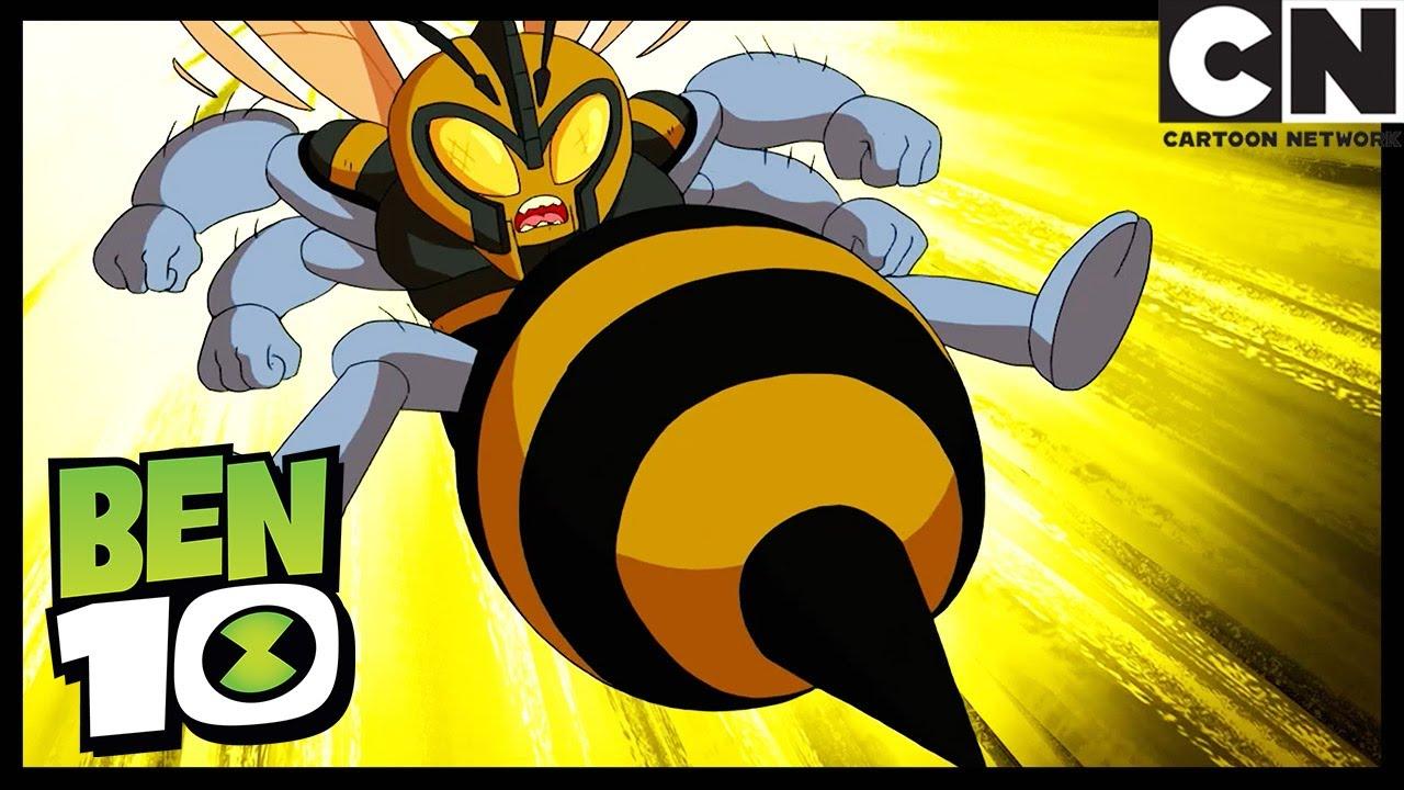 Download Ben and Queen Bee!   Ben in Rome Part 2: The Bee's Knees   Ben 10   Cartoon Network