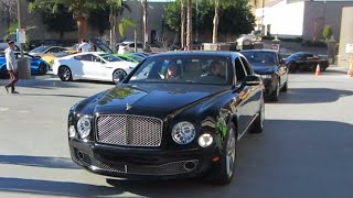 Bentley Mulsanne and Rolls-Royce Ghost