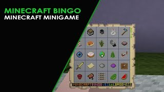 Minecraft Bingo Weekly Challenges for week of May 18th - 25 min challenge Seed 7888