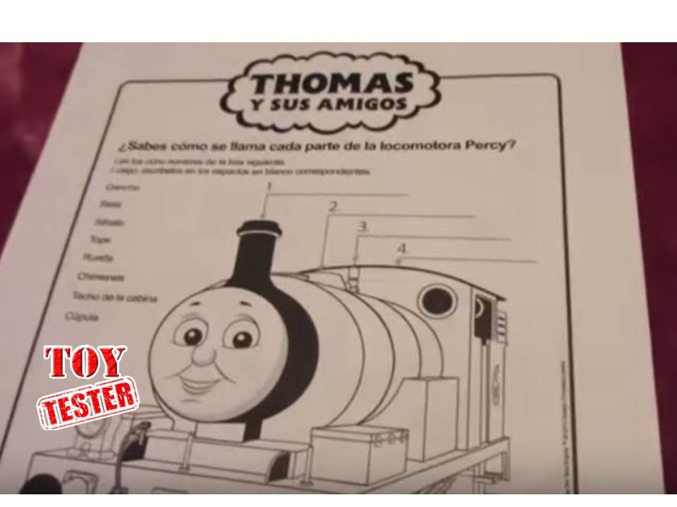 Lujo Thomas Y Amigos Para Colorear Percy Molde - Dibujos Para ...
