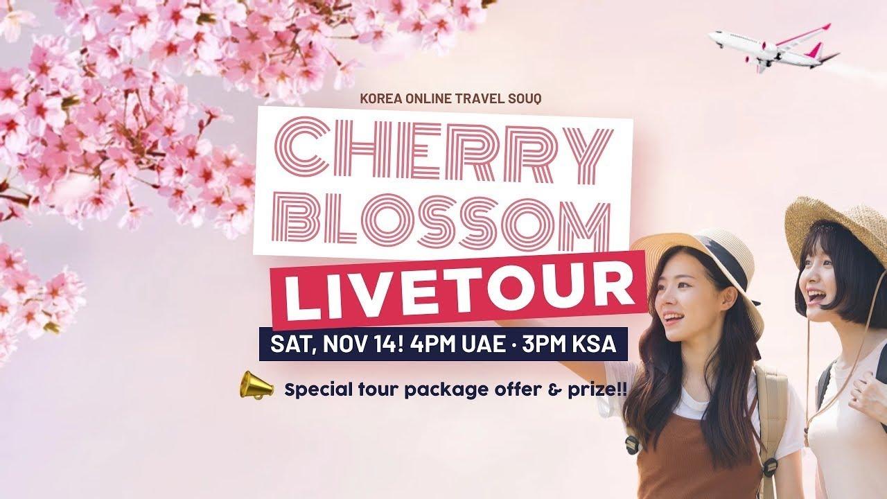 2020 Korea Online Travel Souq | Cherry Blossom Live Tour