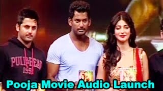 Pooja Movie Audio Launch || Vishal || Shruti Haasan || 03