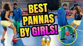 CRAZY NUTMEGS BY GIRLS!   TOP 3 PANNAS #7