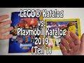 LEGO Katalog gegen Playmobil Katalog 2019 - Teil 1