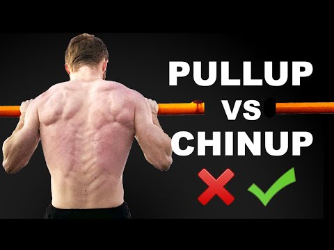PULL UP VS CHIN UP Why I Never Do Chin Ups