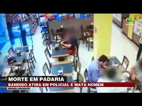 Bandido Mata Homem Durante Assalto A Padaria Em SP
