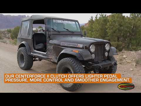 Trent McGee's Centerforce Equipped 1984 CJ-7 Jeep Wrangler