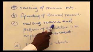 ANSWER TO THE QUESTION OF THE DAY - PUBLIC FINANCE I