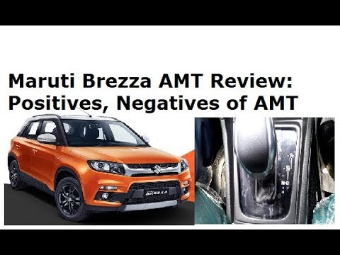 Maruti Vitara Brezza AMT Automatic 2018 Review. Positives, Negatives
