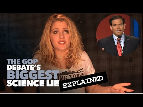 The Biggest Science Lie of the GOP Debate