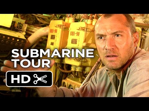 Black Sea - EXCLUSIVE Submarine Tour (2015) - Jude Law Movie HD