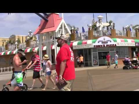 Ocean City, MD  |  Boardwalk Beach Preaching  |  Bikinis Are OF THE DEVIL  |  Kerrigan Skelly