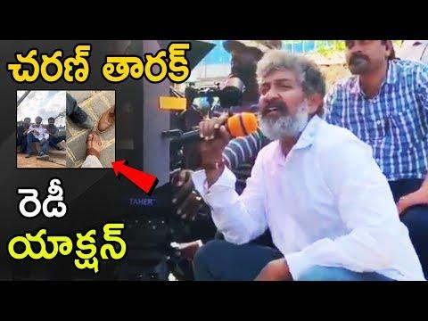 #RRR Movie First Action Making Video | Jr NTR | Ramcharan Teja | SS Rajamoli | Life Andhra Tv