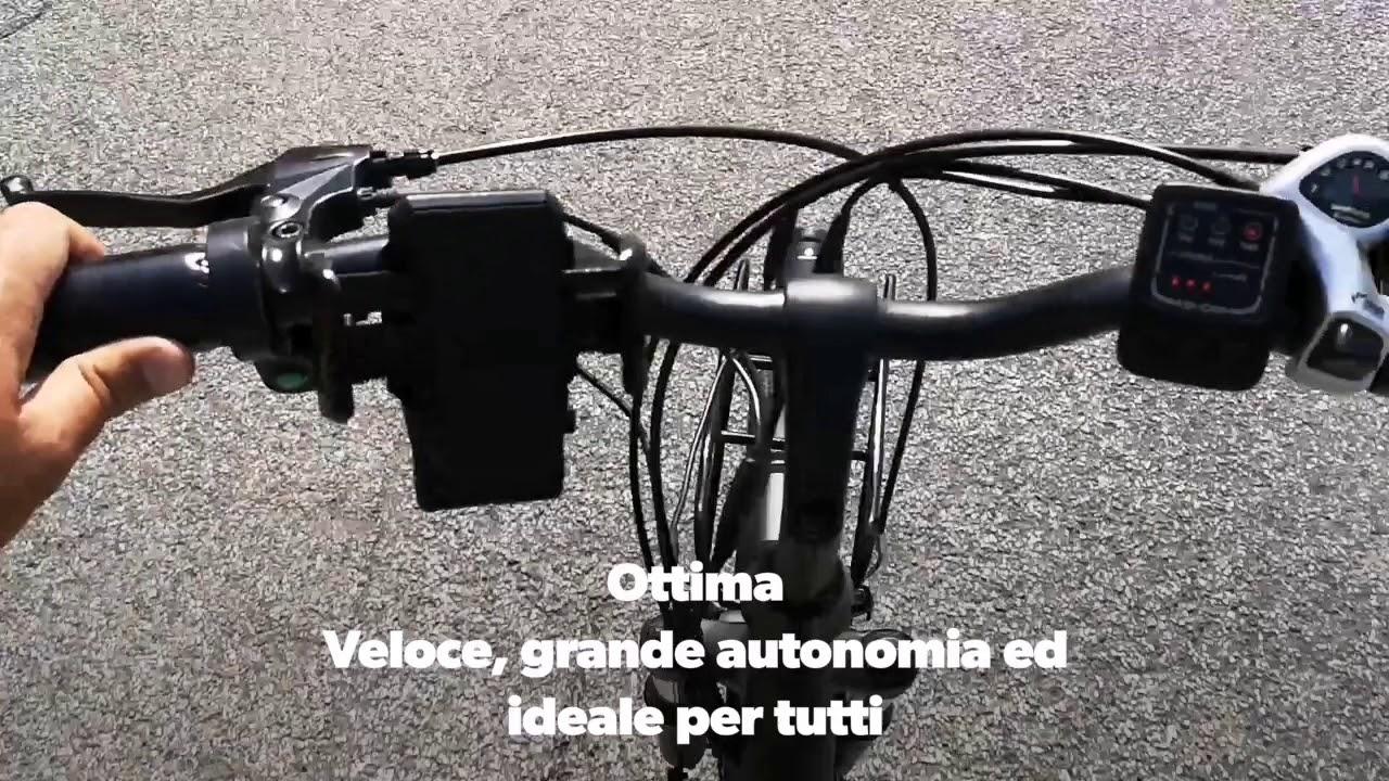 ibike city easy  iBike City Easy. Bicicletta elettrica - YouTube