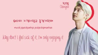 exo 엑소 chanyeol 찬열 you are lyrics hanromeng