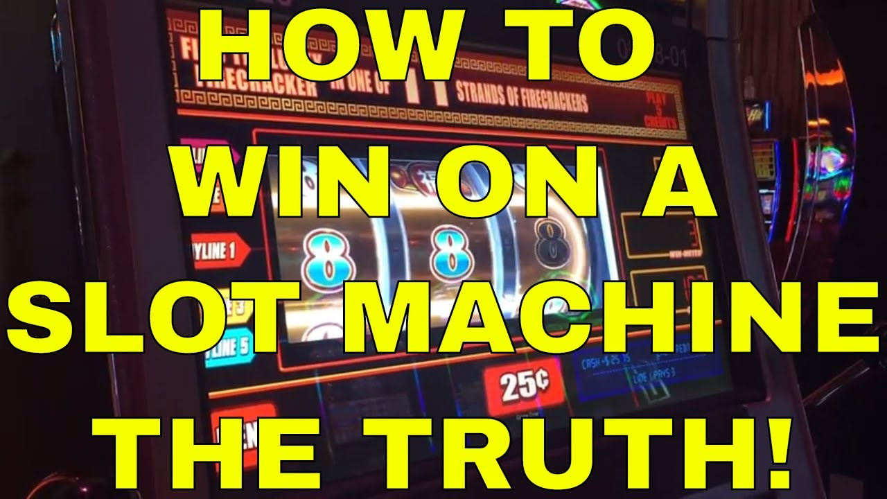 Poker Machines How To Win