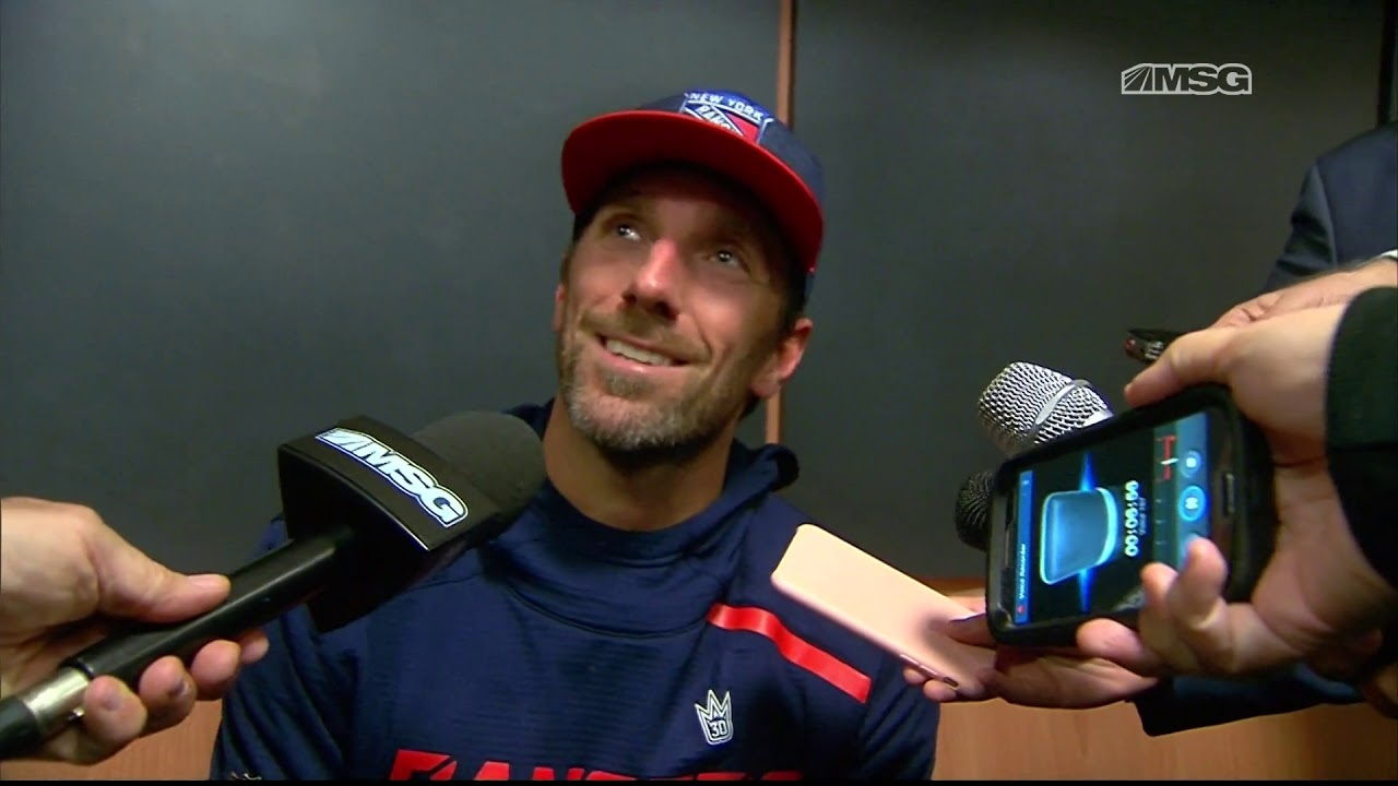 Henrik Lundqvist Goes Over Shootout Win New York Rangers Msg