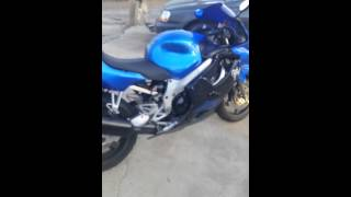 My cbr600 f4 with a 900rr motor swap