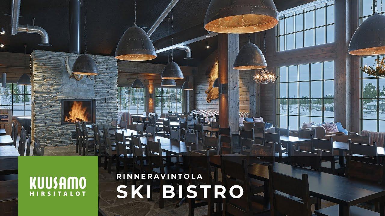 Kuusamo Hirsitalot: Rinneravintola Ski Bistro