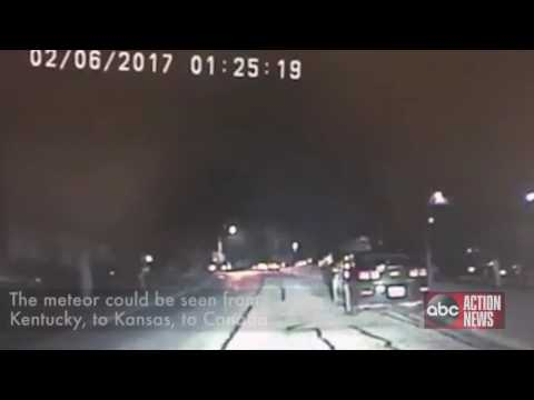 WATCH   Cool meteor sighting in Illinois