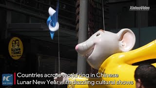 Chinese elements shine across world during Chinese Lunar New Year celebration