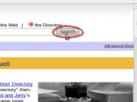 using directories with yahoo dir