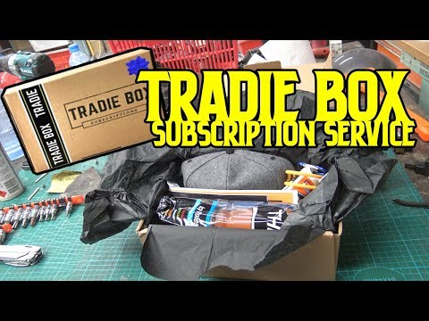 whats in the TRADIEBOX ? | a monthly subscriptions for tradies and DIYers |