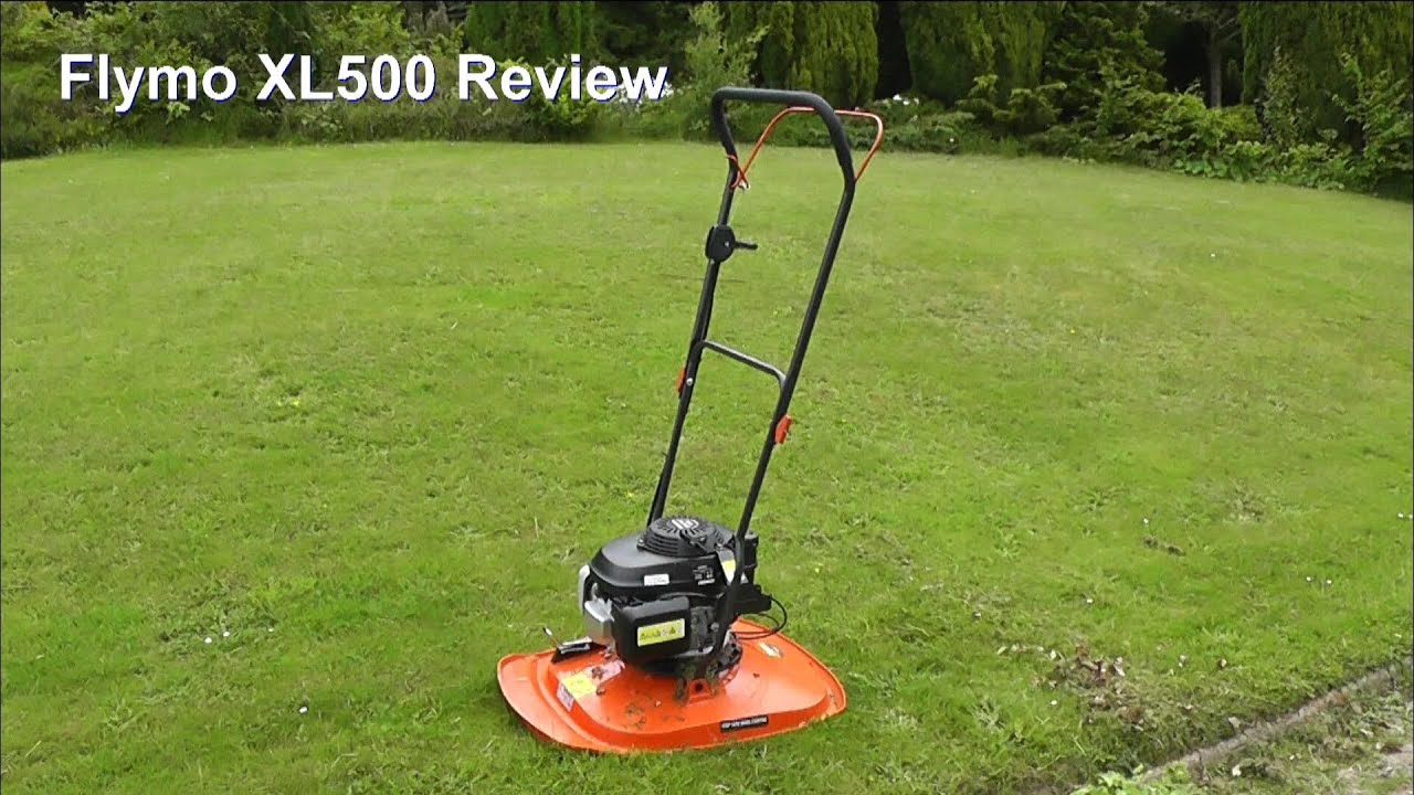 Flymo XL500 Petrol Gasoline Hover Mower Review. Honda Engine. - YouTube 783adc2c6a4