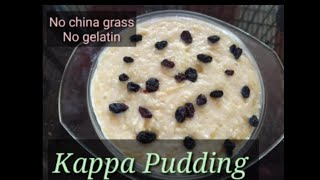 #tapioca pudding without china grass/gelatin /Jaslaz creations