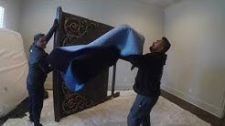 Moving a Huge Large  Bedroom Furniture in Flower Mound by Rescue Movers