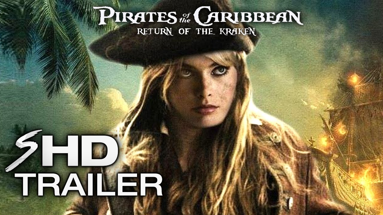 """Pirates of the Caribbean 6 - Official Teaser Trailer """"Return of Davy Jones"""" End Credit"""