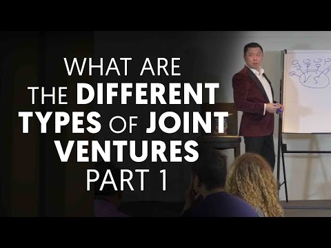What Are the Different Types of Joint Ventures Part 1 | Dan Lok