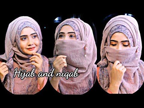 Everyday Formal Hijab And Niqab Style With Crinkle Hijab Step By Step Sanji Da Youtube