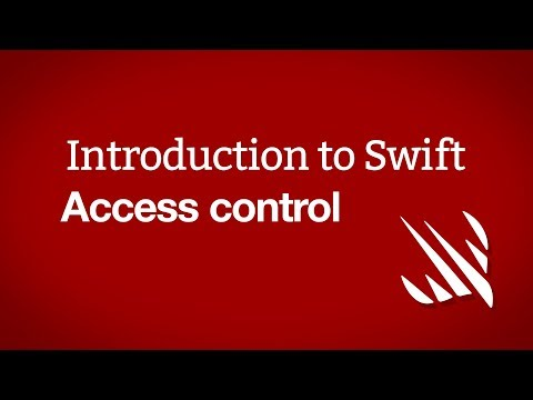 Introduction to Swift: Access control thumbnail