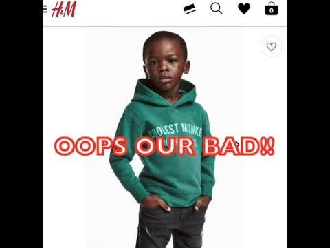 H&M Apologizes for using a black child to sell their