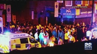 Police: Vehicle strikes several pedestrians on London road