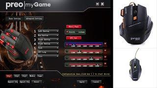 Preo Oyuncu Mouse Makro Programı (Driver) Link Açıklamada