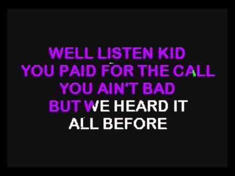 Karaoke Don't call us we'll call you of Sugarloaf