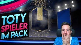ICH ZIEHE EINEN TOTY ANGREIFER! 😲 Unfassbares Pack Luck! | FIFA 19 Ultimate Team TOTY Packopening