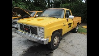 public online auction 1987 gmc sierra r2500 regular cab 2wd pickup truck