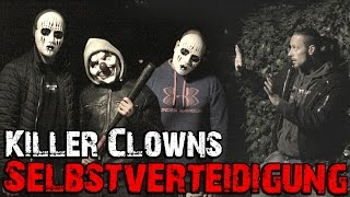 Killer Clowns Prank Vs  Kampfsportler | Prank geht schief | KAMPFKUNST LIFESTYLE